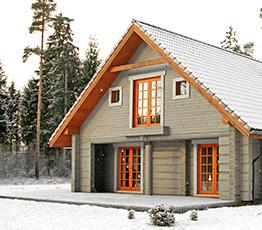 Строительство домов из лафета в Южно-Сахалинске